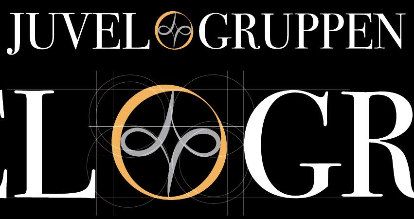 Juvelgruppen logo detaljer